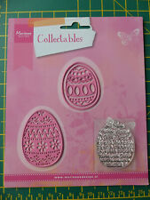 EASTER EGG DIES (Used) AND STAMP (New) COL1382. Marianne Collectables