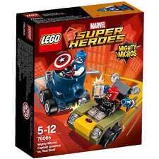 Lego Marvel Super Heroes Captain America vs Red Skull Mighty Micros Set NIB