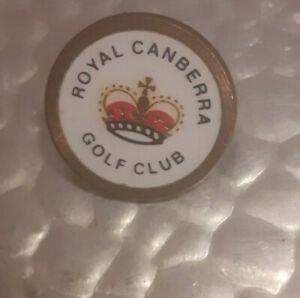 Vintage Royal Canberra ball marker