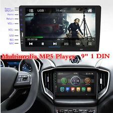 1Din 9inch HD Car MP5 Mirror Link FM Player Stereo Radio Bluetooth TF/USB AUX-In