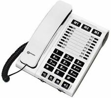 !NEUF ! Télephone amplifie GEEMARC - CL1200 blanc PRIX PROMO !!!