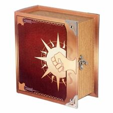 Grimoire Pro Tour Deck Box Legion Spellbook Wooden Store 350+ Cards Magic YuGiOh
