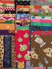 """Fabric Charm Squares 20 5"""" CHILDRENS KIDS 100% cotton patchwork quilting"""