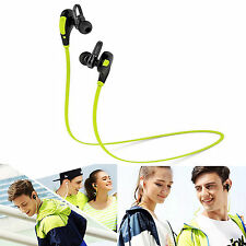 Sports Wireless bluetooth stereo headphone Earbud Handsfree For iPhone 6S 6 5S 5