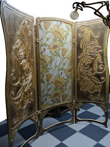 A&O Art Nouveau,   Room Divider Folding Screen
