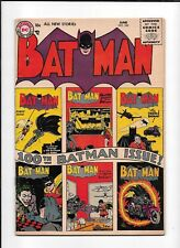 BATMAN #100 ==> VG/FN KEY SILVER AGE ISSUE! DC COMICS 1956