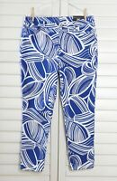 CHICO'S NWT $99 So Slimming Girlfriend Ankle Jeans in Swirl Size 2 US 12 Large
