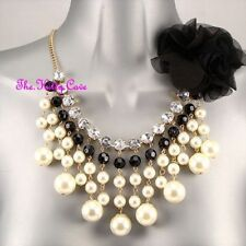 Modeschmuck-Halsketten & -Anhänger mit Strass-Perlen