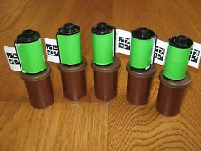 5 X Geocache containers for Geocaching, Ready to Hide, 35mm film pot