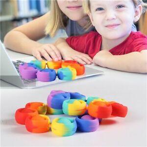 New Fidget Toys  For Children  Push Bubble Dimple Bracelet  Decompression Toy