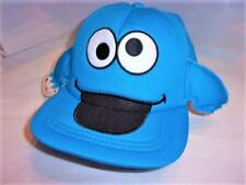 SALE! New Sesame Street Cookie Monster with Arms Adult Adjustable Hat S/M ba