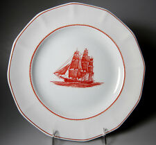 Wedgwood Flying Cloud Rust Dinner Plate 10 1/4""