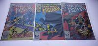 LOT OF 35 MARVEL COMICS THE NEW MUTANTS #2 1983 #2 3 4 5 6 7 8 9 10-15 see pics!