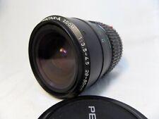 Pentax-A 28-80mm f/3.5-f/4.5 zoom lens in Pentax K mount