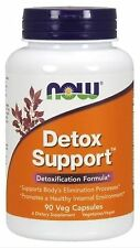 Detox Support Now Foods 90 Caps FAST 1 Class Mail SHIPPING