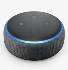 AMAZON Echo Dot Charcoal 3rd Generation 2019 Smart Speaker, New, Fast Delivery