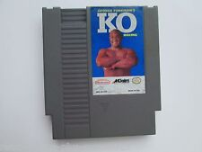 George Foreman's KO Boxing (Nintendo NES, 1992) Game Only--Tested (NTSC/US/CA)