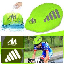 Universal Size Bike/ Bicycle Waterproof Helmet Rain Cover w/Reflective Stripes