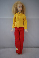 teenage Barbie Fun Time clone doll blonde hair 70's