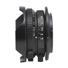 Fisheye Lens 8 Mm F3.8 Wide Angle 180 ° Manual For Mirrorless Camera With M4/3