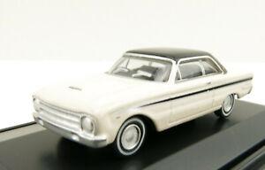 Road Ragers Australian 1964 Ford XM Falcon Coupe Alpine White - H0 Scale 1:87