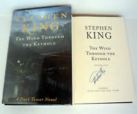 STEPHEN KING SIGNED THE DARK TOWER THE WIND THROUGH THE KEYHOLE 1ST/1ST BOOK