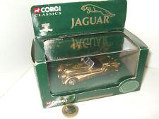 Corgi 02903 Gold Plated Jaguar XK120, 50th Anniversary Model in 1:43 Scale