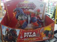 GORMITI S3 HYPERBEAST PYRON & RIFF II