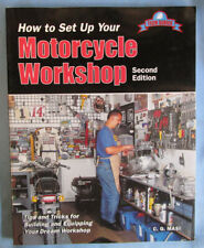 MOTORCYCLE WORKSHOP PRACTICE TECH BOOK MANUAL HARLEY KAWASAKI HONDA TRIUMPH BMW