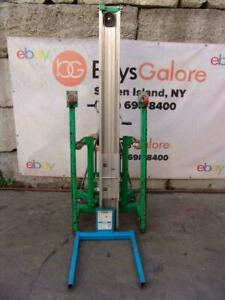 Genie SLC-24 650LBS Contractor Material Lift Hoist 24 Feet Works Great