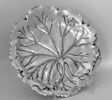International Lily Pad Sterling Silver Tray