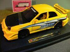 1/24 Burago Subaru Impreza WRX 2002  gelb-schwarz  23006 *