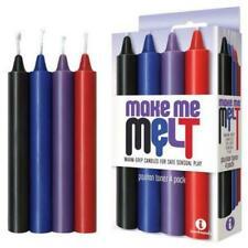 Make Me Melt Drip Candles Passion Tones 4 Set | Bondage BDSM