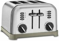 Cuisinart 4-Slice Classic Metal Toaster - Brushed Stainless