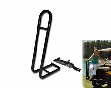 Golf Cart Rear Seat Trailer Hitch and Safety Grab Bar For The Back of Golf Cart