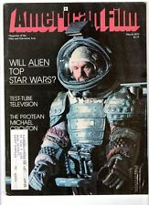WoW! American Film V4#5 Will Alien Top Star Wars? Hitchcock Tribute! M. Crichton