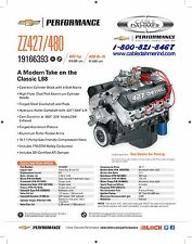 Chevrolet Performance ZZ427/480 HP Crate Engines 19166393