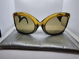 CHRISTIAN DIOR D09 Green Gradient Frame Green Lens Oversize Butterfly Sunglasses