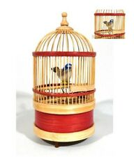 Singing Bird in Cage, Wind Up Music Box,   Remake, Disney Inspired