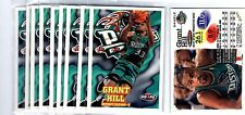 1X GRANT HILL 1997-98 Hoops NO# PROMO SAMPLE PROTOTYPE Bulk Lot Available