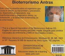 Bioterrorism Anthrax by Daniel Farb (CD-Audio, 2006)
