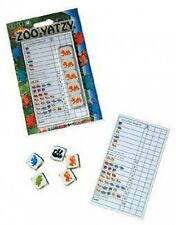YAHTZEE DICE GAME FOR KIDS - ZOO YATZY CHILDRENS DICE GAME 2-6 players
