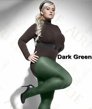 PLUS SIZE TIGHTS PERLA 40 DENIER HOSIERY WITH SPECIAL COMFORTABLE GUSSET XL-4XL