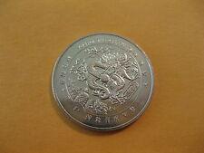 "2000 Liberia coin, Dollar,  ""Year of the Dragon""  dragon coin, unc beauty"