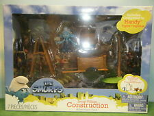 Handy Smurf Construction Playset *New*