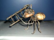 Rock Ant Yard Art Decorations With A Ladder On The Side