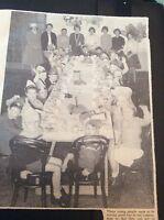 B1-4 ephemera 1961 picture st paul's church margate children's party
