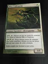 MTG MAGIC SHADOWMOOR RHYS THE REDEEMED (FRENCH RHYS L'AFFRANCHI) NM