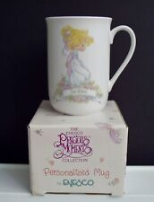 Debbie Personalized Precious Moments Mug Enesco Coffee Tea 1991