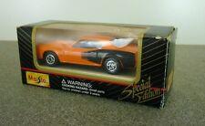 Orange & Black MAISTO Plymouth Hemi Cuda - diecast car - Original Packaging